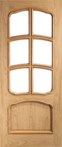 VR12G-OAK-UNGLAZED