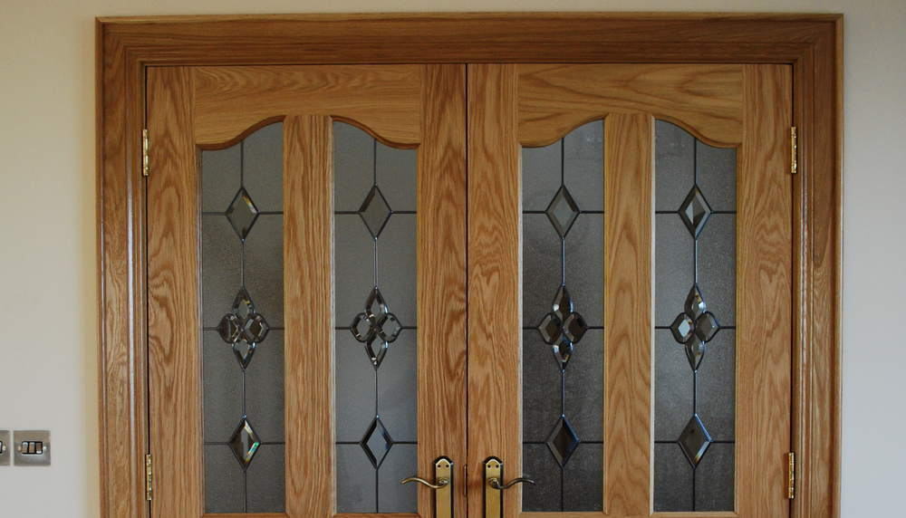 Glass Panel Doors & Home